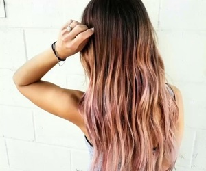 hair, pretty, and rose gold image