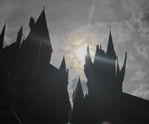 beautiful, castle, and dark image