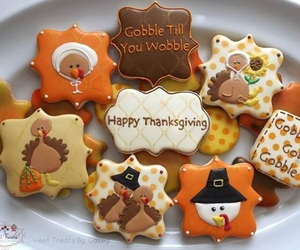 autumn, brown, and Cookies image