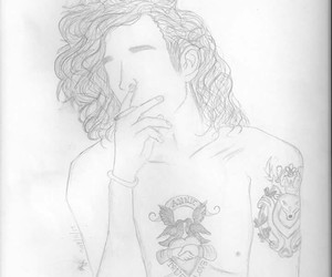 drawing, matty, and the 1975 image