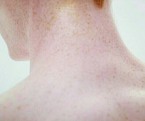 human, pale, and skin image