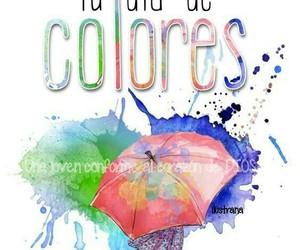 colores, frases en español, and buenos días image