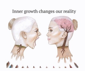 brain, girl, and growth image