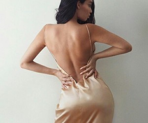beauty, hair, and dress image