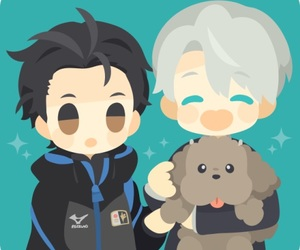 anime, yuri on ice, and yuri image