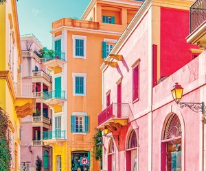 aesthetic, colorful, and pink image