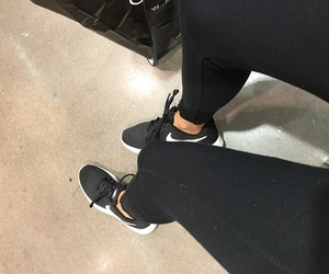 leggings, mall, and nike image