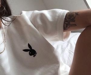 Playboy, tattoo, and tumblr image