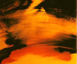 art, dark, and orange image