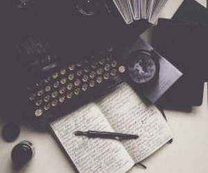 book, vintage, and writing image