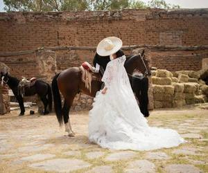 mexican, love, and weddding image