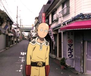 anime, japanese animation, and saitama image