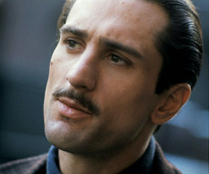 robert de niro, The Godfather, and don corleone image