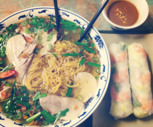food, vietnamese, and photography image