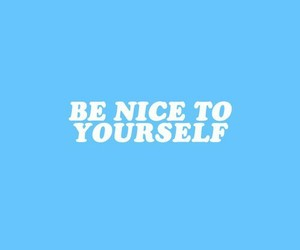 blue, nice, and positivity image