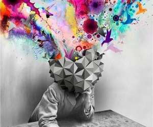 art, mind, and colors image