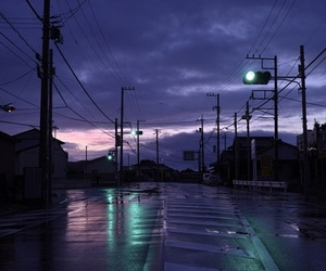 sky, grunge, and purple image
