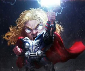 Marvel, Avengers, and thor image