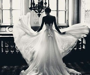 dress, forever, and commitment image