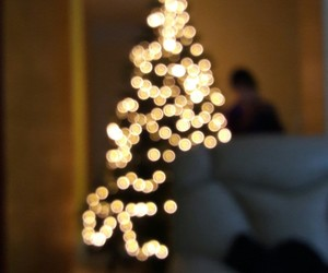 blurry, christmas, and indie image