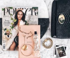 magazine, pink, and theme image