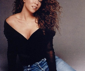 Mariah Carey and 90s image