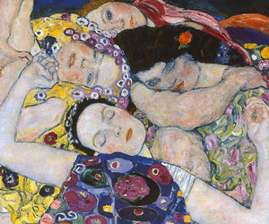 art, Gustav Klimt, and klimt image