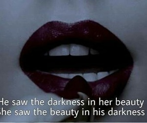 Darkness, beauty, and dark image