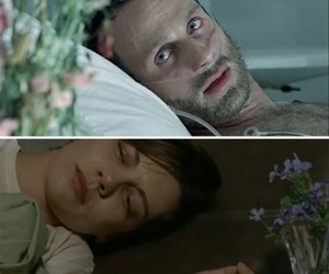 flowers, the walking dead, and season 1 image