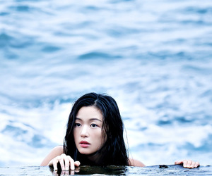 lee min ho, jeon ji hyun, and legend of the blue sea image