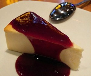 cake, delicious, and dressing image