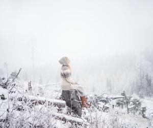 beautiful, dreamy, and winter image
