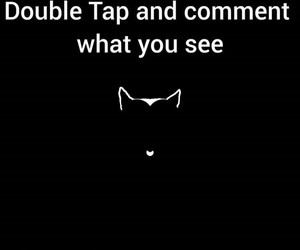 cat and double tap image