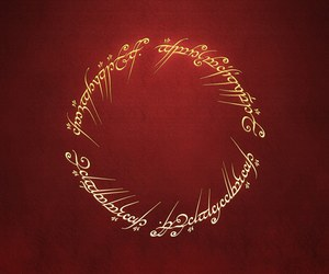 lord of the rings, LOTR, and ring image