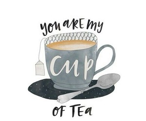 tea, quotes, and cup image