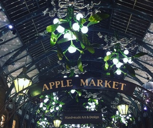 christmas, covent garden, and decoration image
