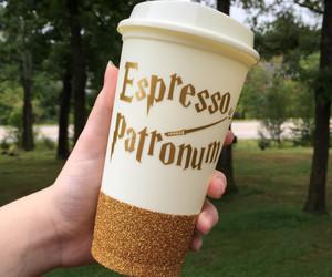 harry potter and espresso patronum image