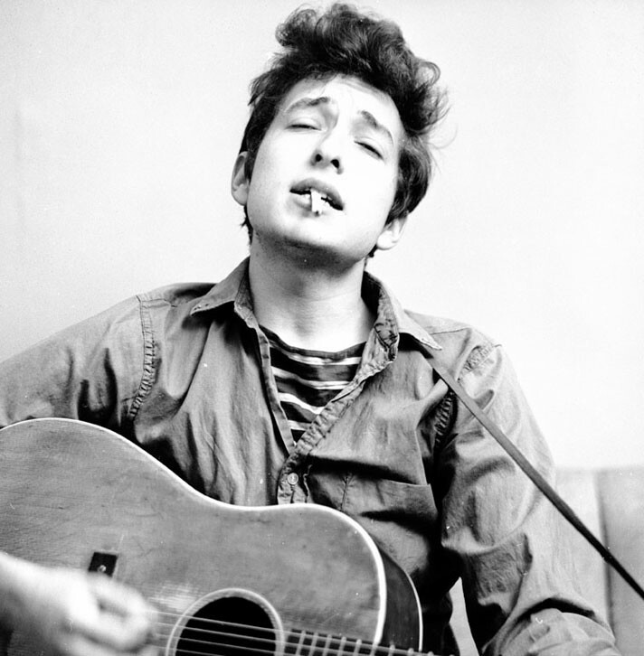 bob dylan, peace, and guitar image