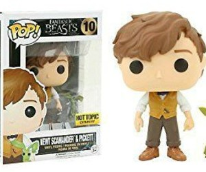 funko, newt scamander, and harry+potter image
