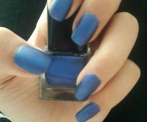 blue, oje, and tirnaklar image