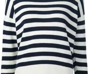 fashion and striped sweater image