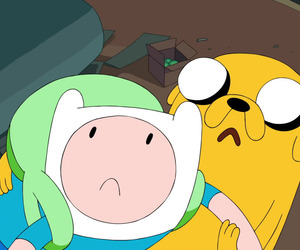 finn, jack, and adventure time image