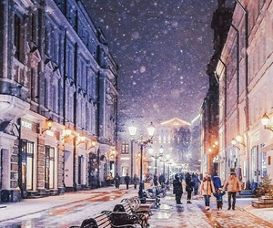 beautiful, christmas, and moscow image