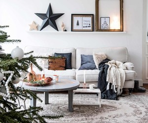 interior, apartment, and christmas image