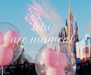 disney, pink, and disneyland image