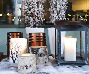 candle and tree image