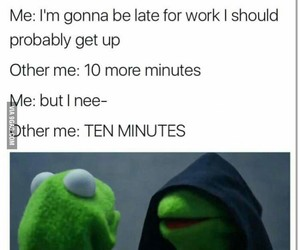 alarm, morning, and working image
