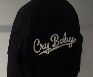 black, bomber, and cry image