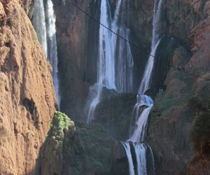 cascades, morocco, and waterfall image