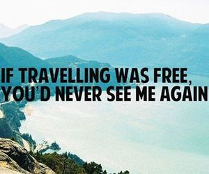 travel, quote, and free image